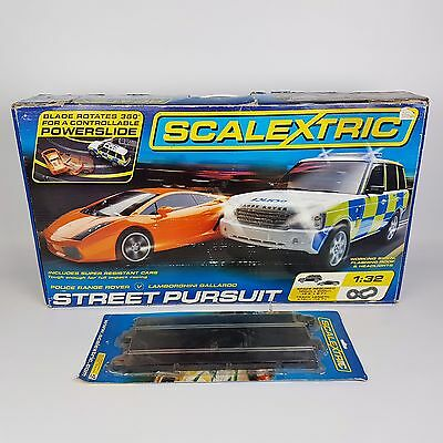 Scalextric Street Pursuit, Track and controls lot. | FAST POST