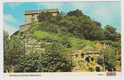 Postcard The Rock And Castle Nottingham. Unposted