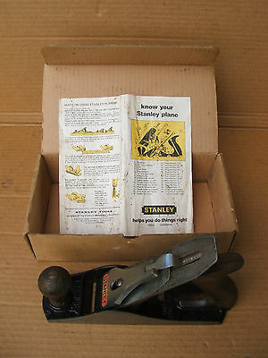 Vintage Stanley No.4 Wood Plane made in Australia