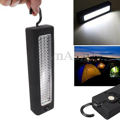 Magnetic Hook Hanging Ultra Bright 72 LED Work Worklight Camping Light Tent Lamp