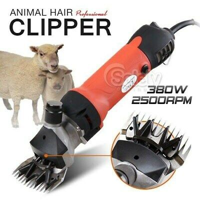 New & Latest 380W Pro Electric Clippers Shear Supply Sheeps Goats Alpaca Shearer