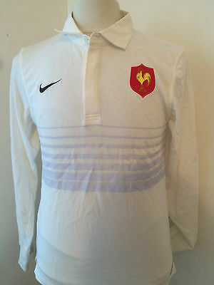 Maillot Shirt Polo Rugby France AWAY Extérieur