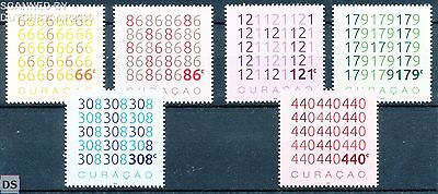 NVPH 316/21 MNH / Neuf / Postfrisch Curacao Independent - Numbers