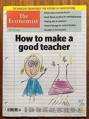 The Economist June 11-17 2016 How to make a good teacher, technology agriculture