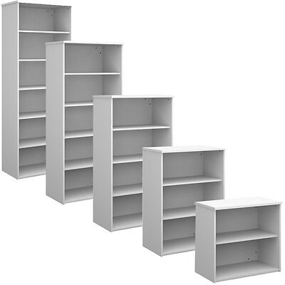 White Office Bookcase Shelving - All Sizes