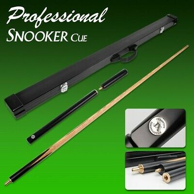 Top Grade AAA 3pcs Style Snooker Cue Billiard Aluminium Casing American Ash Wood