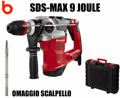 Einhell Martello Tassellatore Perforatore Sds Plus Rt-Rh 32 1250W + Set Punte