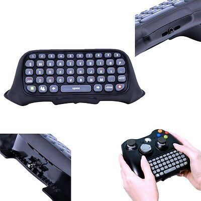Wireless Text Messenger Game Keyboard Controller Catpad for Microsoft Xbox 360