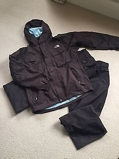 Men's North Face Ski Jacket and Trousers Medium