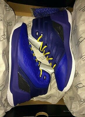 New Curry 3  size 4.5y SHIPS FREE