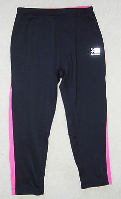 Karrimor - Running - Cropped Tights - Black/Pink - Age 11-12 Years