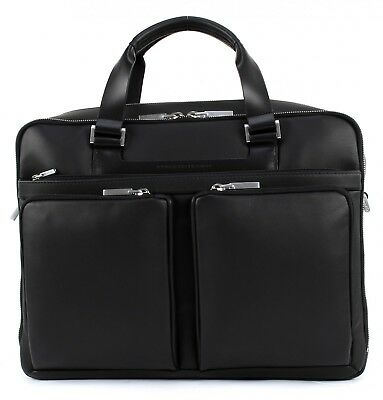 PORSCHE DESIGN Shyrt-Leather BriefBag LH Tasche Aktentasche Laptoptasche Schwarz