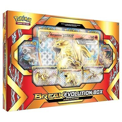 Pokemon TCG Arcanine BREAK Evolution Box