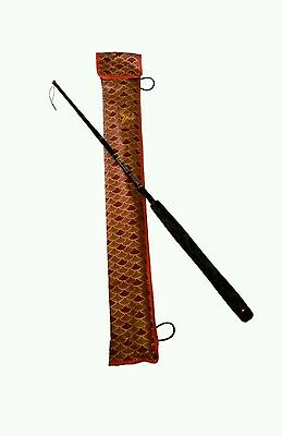 """Esoteric tackle tenkara rod, the strooan. 12' 10'8"""" and 9'4"""". Triple length zoom"""