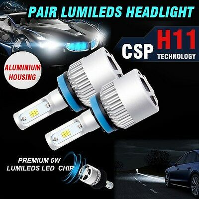 H11 180W 19000Lm Philips Led Headlight Kit High Low Beam Replace Halogen Xenon