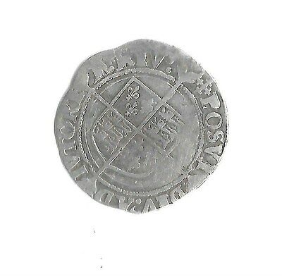 Elizabeth1st  GROAT silver hammered coin-No date or Rose-Second issue