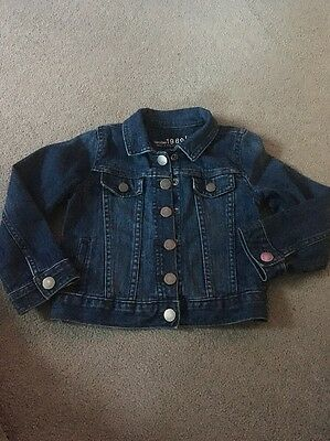 Girls Jean Jacket Nwot From Baby Gap Age 4 Years