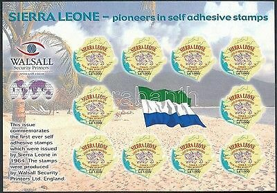 Sierra Leone stamp 1st anniversary of first edition of self-adhesive WS219018