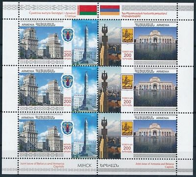 Armenia stamp Belarus Friendship mini sheet 2011 MNH Mi 747-748 WS219039