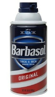 BARBASOL  'Original' Thick & Rich Shaving Cream Rasierschaum 283 gr  aus USA