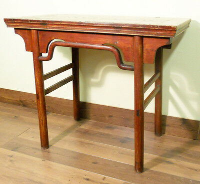Antique Chinese Ming Console (wine) Table (5178), Circa 1800-1849