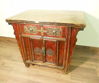"""Antique Chinese """"Butterfly"""" Cabinet (5713), Circa 1800-1849"""