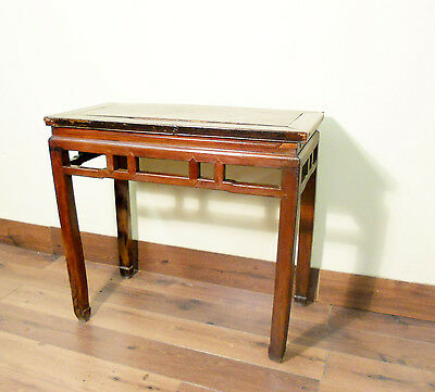 Antique Chinese Ming Painting Table (5449) Zelkova Wood, Circa 1800-1849