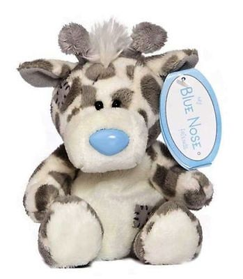 "Me To You 4"" Blue Nose Friends Collectors Plush - Twiggy the Giraffe # 7"