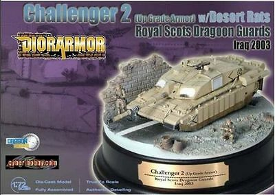 DRAGON DIOR ARMOR 1/72 Challenger II Royal Scots Draoon Guards Iraq 2003 - 60197