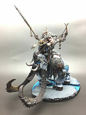 Games Workshop Warhammer Age Of Sigmar Ogre Kingdoms Frostlord On Thundertusk
