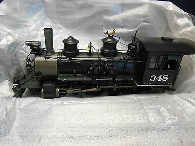 Mountain Model Imports C-19 #DC1063-9 On3 Road #348 2-8-0 Factory Painted