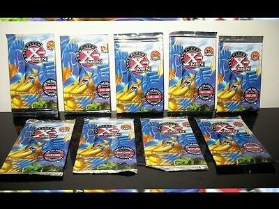 9 Packs of  X Men comic Cards , Marvel  Fleer 1996 sealed XMen
