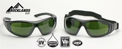 Elvex Go Specs II™ G2 Safety/Welding Glasses/Goggles Shade 5 A/F Lens Z87.1