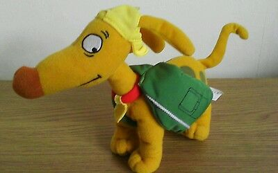 Spike the dog from the rug rats soft plush toy