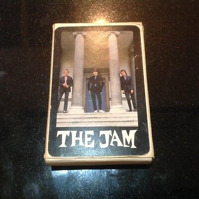 The Jam Rare Pack Of Promotional Playing Cards Mod Punk The Who