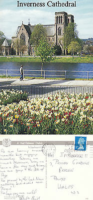 1992 Inverness Cathedral Inverness Shire Scotland Colour Postcard