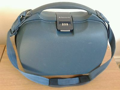 Vintage Samsonite vanity case combination lock hard shell lots of compartments