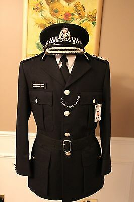 Obsolete Strathclyde (Scottish) Police Chief Constables Tunic, Shirt & Tie