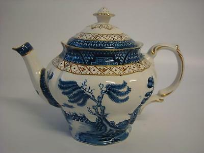 Booths Real Old Willow A 8025 Small 1 Pint Teapot