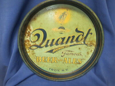Quandt Brewing Co. Troy New York Beer Tray
