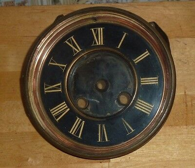 Antique French clock bezel & dial c1900