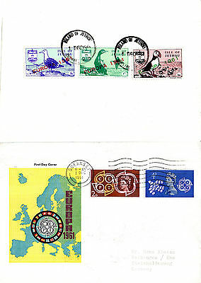 ISLE OF JETHOU 1 DECEMBER 1961 EUROPA COMMEMORATIVE STAMPS ON FIRST DAY COVER (a