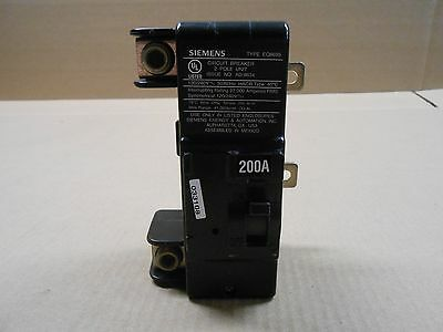 1 New Siemens Eq Eq8695 Circuit Breaker 200A 200 Amp 2P 2 Pole 240V