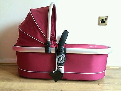 iCANDY Peach Jogger Main Carrycot Cranberry New