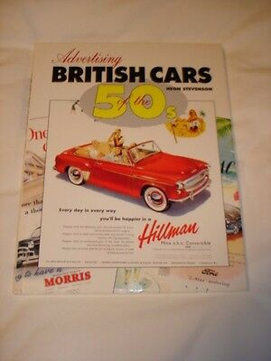 Advertising British Cars  0f the 1950's by Heon Stevenson