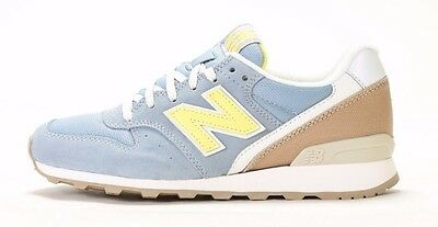 WOMEN'S NEW BALANCE 696 LAKEVIEW WL696HD (B) GREY/LIGHT YELLOW/TAN (msrp: $80)