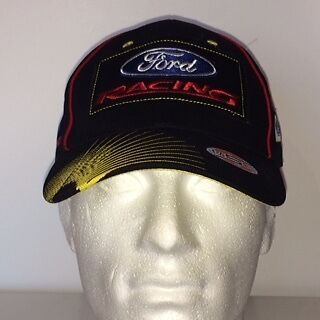 Ford Racing Motorsport cotyon  Baseball cap with embroidered logo's