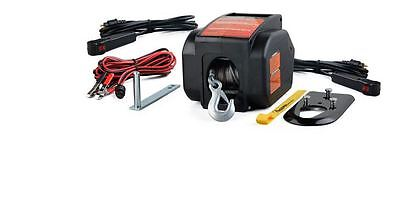 NEW Winch Ton Hoist Puller Cable lb Come Along Pull 2 Lift Electric Power Gear