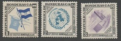 Honduras stamps.  1953 Airmail - United Nations. MLH