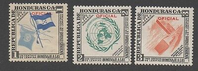 Honduras stamps.  1953. Official stamps. United Nations. MLH